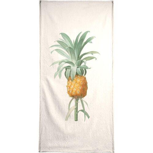 """JUNIQE Handtücher Ananas """"Ananas"""" von JUNIQE"""
