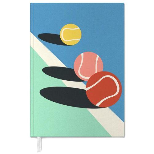 "JUNIQE Terminplaner 2021 Tennis ""3 Tennis Balls"" von JUNIQE"