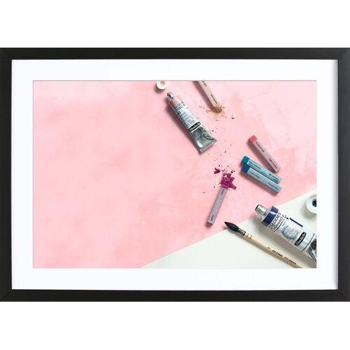 """JUNIQE Bild Mode """"Pinsel & Farben"""" von JUNIQE - Künstler: GLOSSYBOX"""
