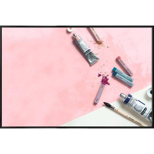 "JUNIQE Poster Mode ""Pinsel & Farben"" von JUNIQE - Künstler: GLOSSYBOX"