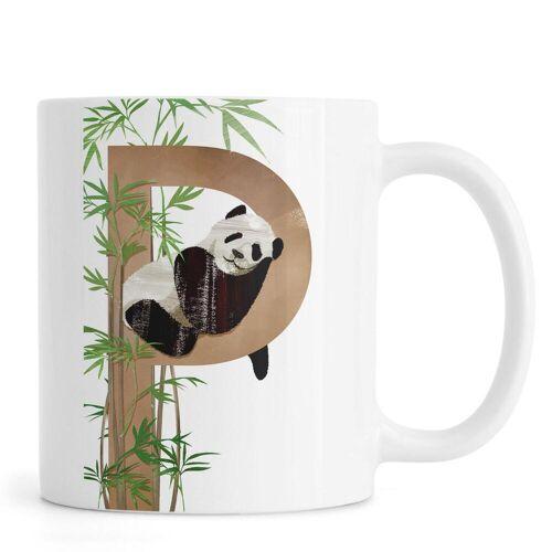 "JUNIQE Tassen Pandas ""P Panda"" von JUNIQE"