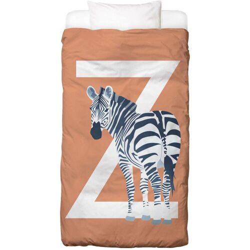 """JUNIQE Bettwäsche Zebras """"Z Zebra"""" von JUNIQE"""