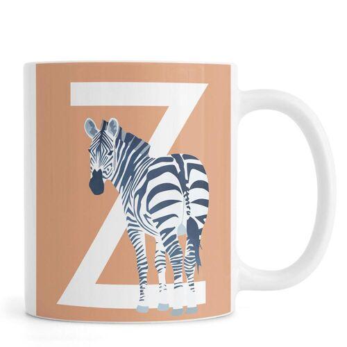 "JUNIQE Tassen Zebras ""Z Zebra"" von JUNIQE"