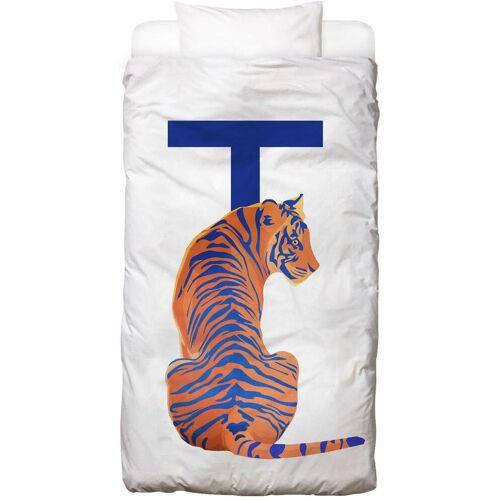 """JUNIQE Bettwäsche Tiger """"T Tiger"""" von JUNIQE"""