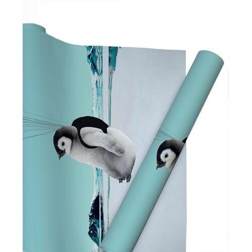 "JUNIQE Geschenkpapier Pinguine ""Penguin"" von JUNIQE"