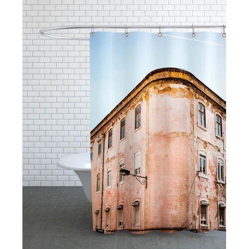 """JUNIQE Duschvorhang Architekturdetails """"Shabby Chic Building"""" von JUNIQE"""