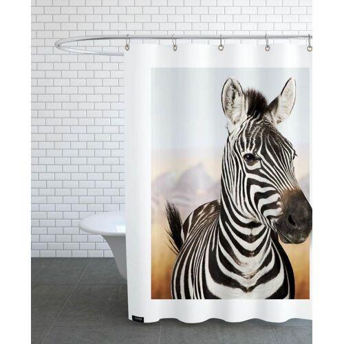 "JUNIQE Duschvorhang Zebras ""ZEBRA"" von JUNIQE"