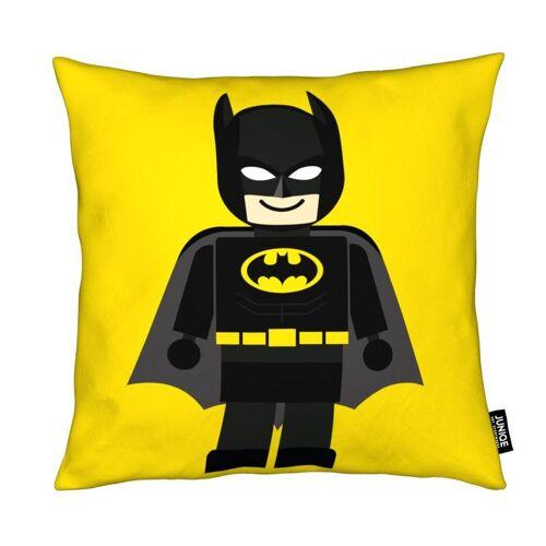 "JUNIQE Deko Kissen Batman ""Batman Toy"" von JUNIQE"