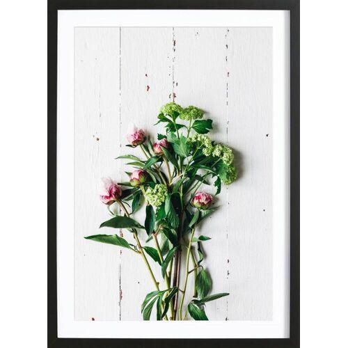 """JUNIQE Bild Blumen """"Frühlingsblumen"""" von JUNIQE - Künstler: Eat this!"""