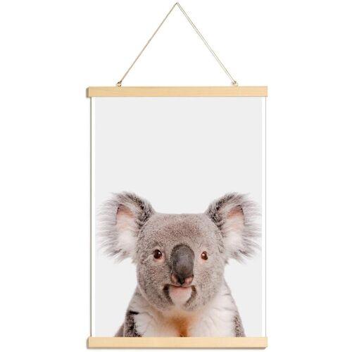 """JUNIQE Poster mit Posterleisten Koalas """"Koala"""" von JUNIQE - Künstler: Paws & Claws"""