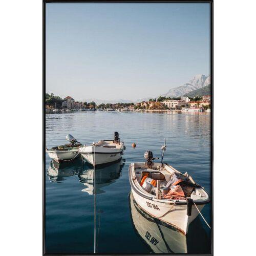 """JUNIQE Kunstdruck Reise """"Makarska by Reisevergnügen"""" von JUNIQE - Künstler: Reisevergnügen"""