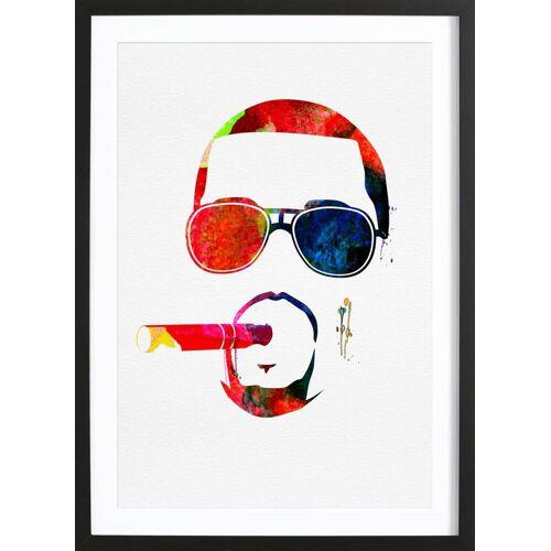 """JUNIQE Bild Kanye West """"Kanye"""" von JUNIQE - Künstler: Naxart"""