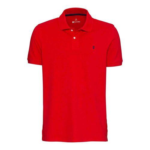 NKD Herren-Poloshirt mit Logo-Stickerei red 2XL