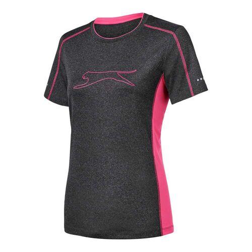 NKD Damen-T-Shirt mit Reflektoren pink L