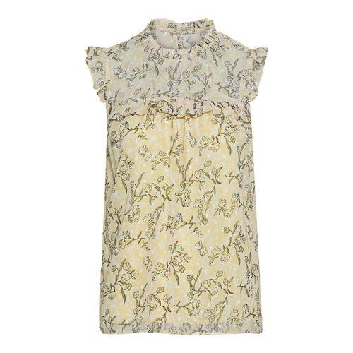 NKD Damen-Bluse mit schicken Rüschen light-yellow XS