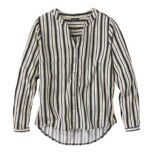 NKD Damen-Bluse mit modischen Muster black M