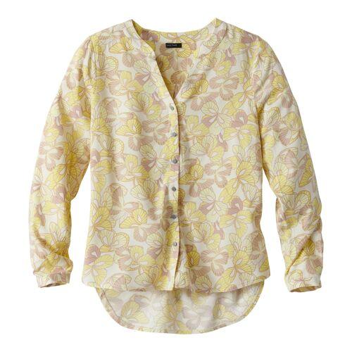 NKD Damen-Bluse mit modischen Muster yellow L