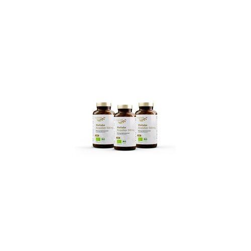 Vita-World GmbH 3er Pack Maitake Biopulver 500 mg (360 Kps)