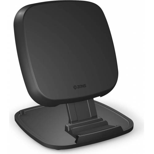 ZENS Fast Wireless Charger Stand (15W), Wireless Charger, Schwarz