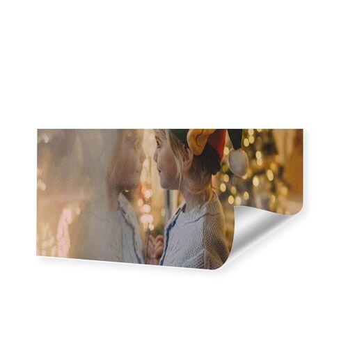 Druck auf handgeschöpftes Papier als Panorama im Format 50 x 25 cm