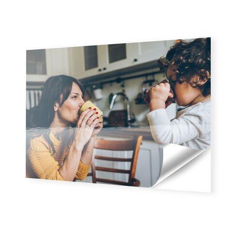 Foto auf Klebefolie im Format 90 x 70 cm