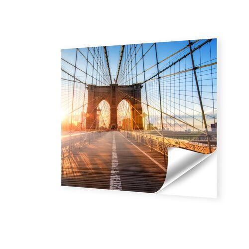 Fensterfolie quadratisch im Format 110 x 110 cm