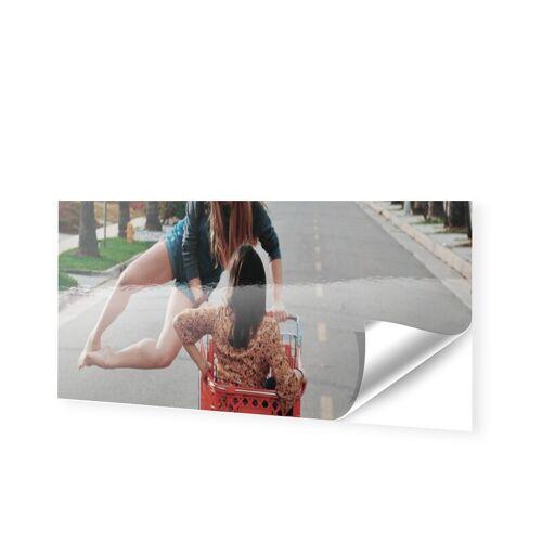 Fensterfolie als Panorama im Format 300 x 50 cm