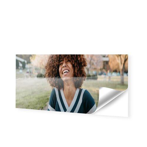 Schaufensterfolie als Panorama im Format 120 x 30 cm
