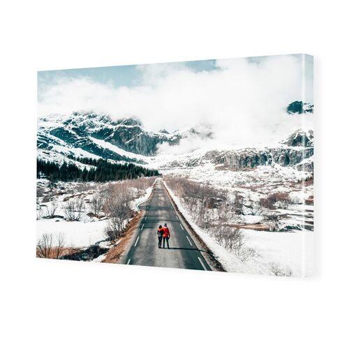 Foto auf Leinwand im Format 60 x 45 cm