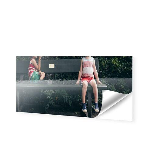 Schaufensterfolie als Panorama im Format 200 x 80 cm