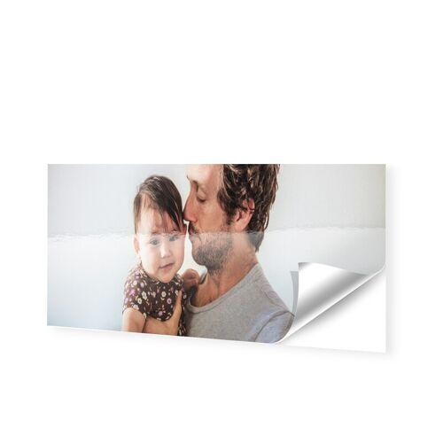 Schaufensterfolie als Panorama im Format 200 x 50 cm