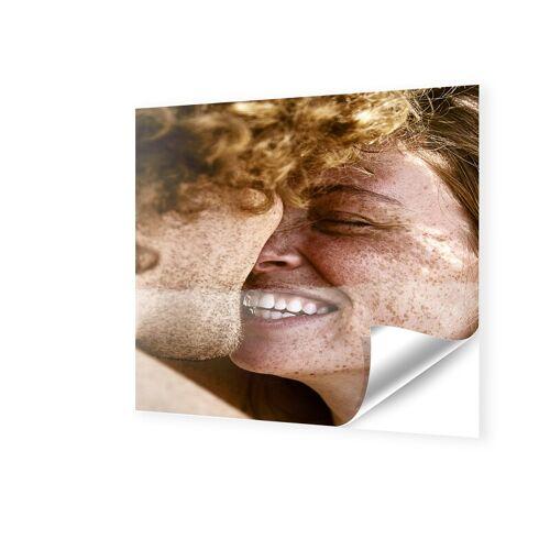 Fensterfolie quadratisch im Format 90 x 90 cm