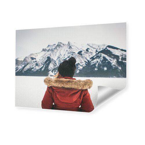 Foto auf Künstlerpapier im Format 16 x 9 cm