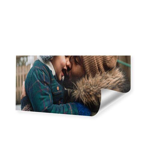 Druck auf handgeschöpftes Papier als Panorama im Format 80 x 40 cm