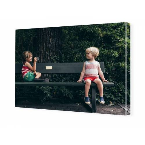 Foto auf Leinwand im Format 28 x 21 cm