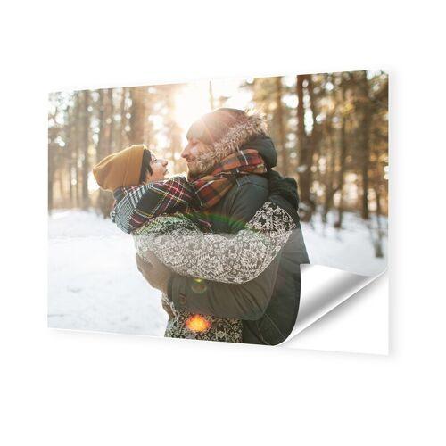 Foto auf Klebefolie im Format 100 x 80 cm