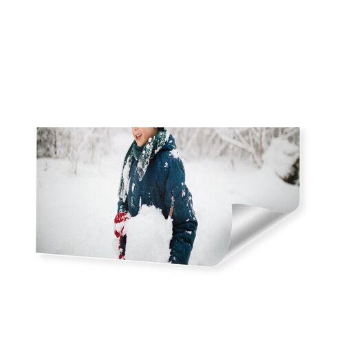 Druck auf handgeschöpftes Papier als Panorama im Format 90 x 45 cm