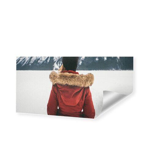 Druck auf handgeschöpftes Papier als Panorama im Format 180 x 90 cm