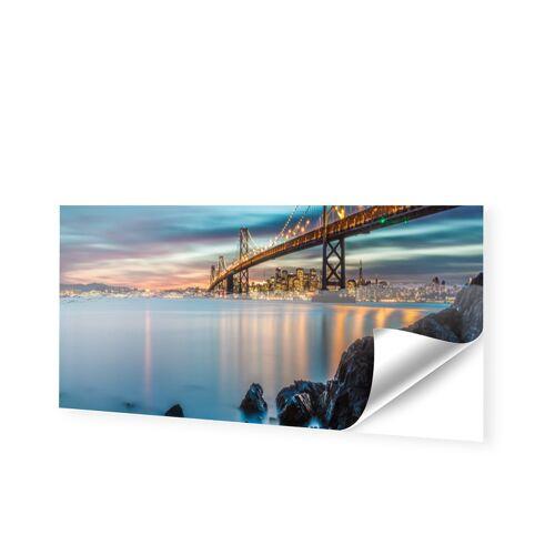 Schaufensterfolie als Panorama im Format 180 x 45 cm