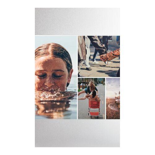 Fotorahmen in silber im Format 18 x 13 cm