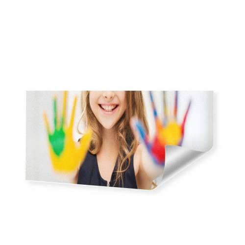 Druck auf handgeschöpftes Papier als Panorama im Format 200 x 100 cm