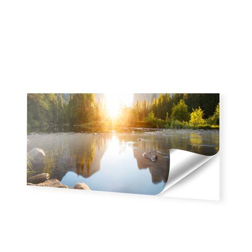 Fensterfolie als Panorama im Format 270 x 45 cm