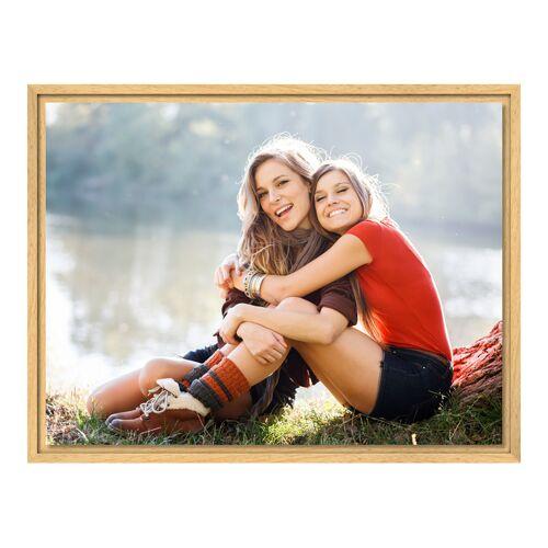 Foto auf Leinwand im Schattenfugen Rahmen Natur für Fotos auf Leinwand im Format 60 x 45 cm