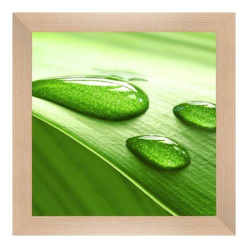 Hahnemühle Photo Foto auf Hahnemühle Papier im Bilderrahmen Holz gemasert im Format 45 x 30 cm