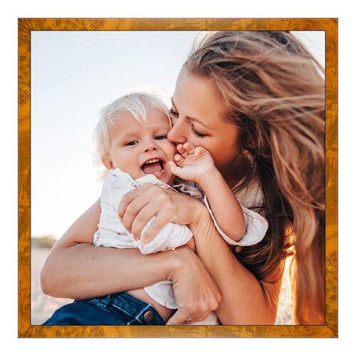 Foto auf Künstlerpapier im Wurzelholz Holzrahmen im Format 80 x 45 cm