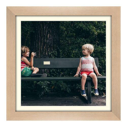 Hahnemühle Photo Fotoabzug auf Hahnemühle im Holzrahmen gemasert im Format 40 x 30 cm