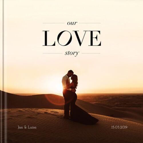 Fotobuch Hochzeit 20x20 Hardcover