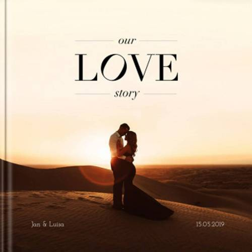 Fotobuch Hochzeit 30x30 Hardcover