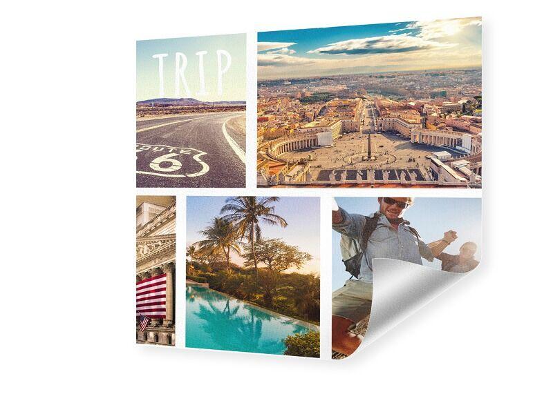 Hahnemühle Photo Collage Print auf Hahnemühle quadratisch im Format 10 x 10 cm