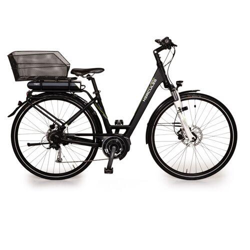 Hercules EDISON F8 2015 E-Trekking Schwarz Bike RH 46cm Fahrrad